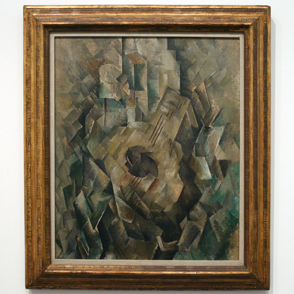 Georges Braque - Mandora - Olieverf op canvas