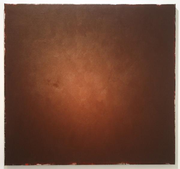 Ger van Elk - Conclusions I - Clermont-F 'Black Landscape' - 96x102x5cm Acrylverf op foto op canvas
