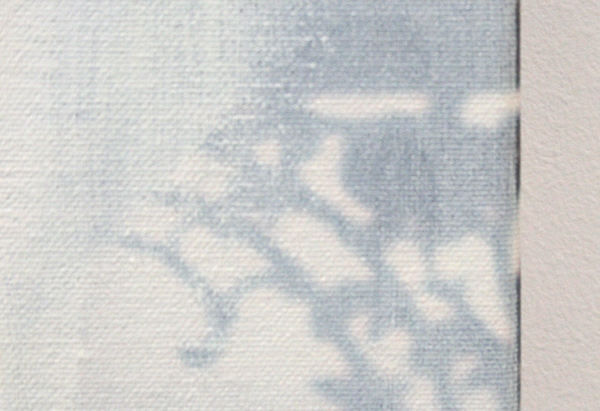 Ger van Elk - Conclusions II - Vejer de la Frontera 'Yellow' - 123x126x6cm Acrylverf op foto op canvas (detail)