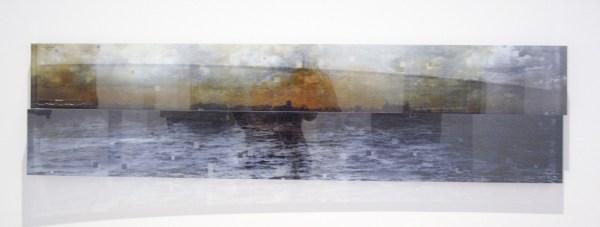 Ger van Elk - Kinselmeer - beschilderde cibachrome tussen plexi, 1998