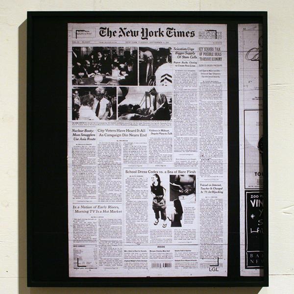 Gert Jan Kocken - New York Times, Tuesday September 11, 2001