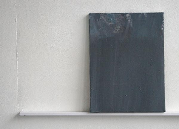 Giel Louws - Zonder Titel - 40x30cm Acrylverf op canvas, 2012
