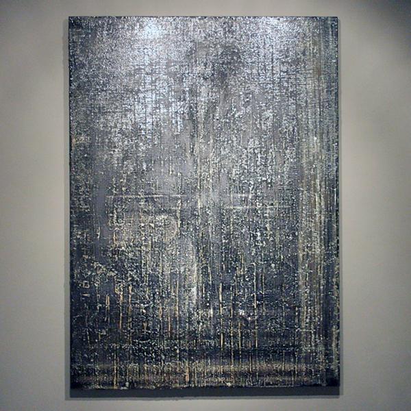 Gijs van Lith - Zonder Titel 1 - 180x130cm Olieverf, acrylverf, alkydverf en spuitbus op canvas