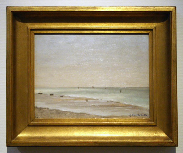 Gustave Caillebotte - Bord de Mer en Normandie - Olieverf op doek 1878
