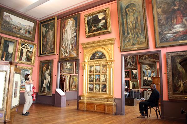 Gustave Moreau atelier overzicht