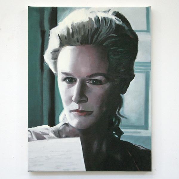 Hans Broek - Marquise Isabelle de Merteuil, NY - 45x60cm