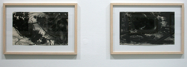 Hans de Wit - Pencil Poem no 4 - Pastel en houtskool op Canson Mi-Teintes papier