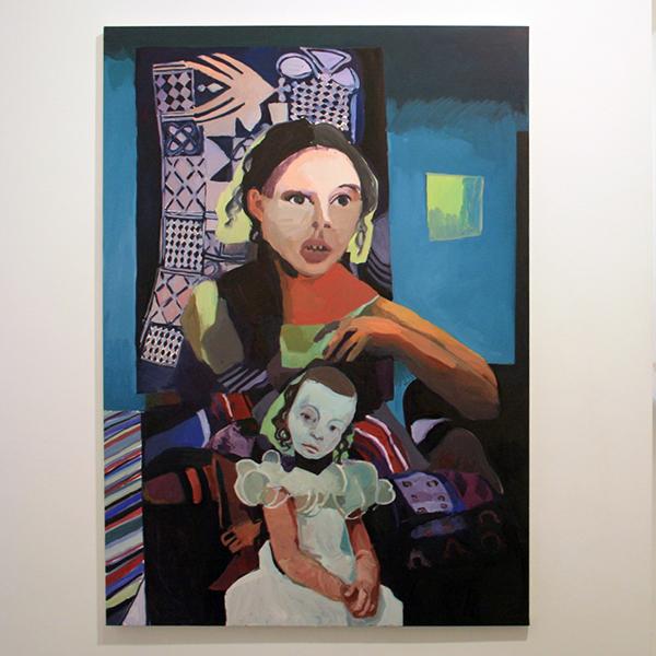 Helen Verhoeven - Mother 10 - 155x109cm Olieverf op canvas