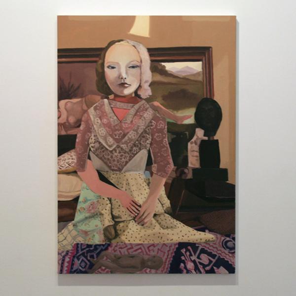 Helen Verhoeven - Mother 6 - 98x67cm Olieverf op canvas