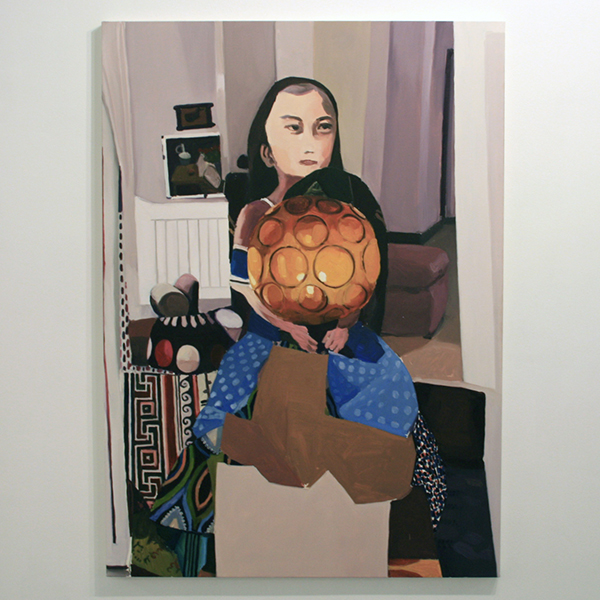Helen Verhoeven - Mother 8 - 142x107cm Olieverf op canvas
