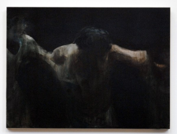 Henk Duijn - Untitled - 30x40cm Acrylverf op hout 2012