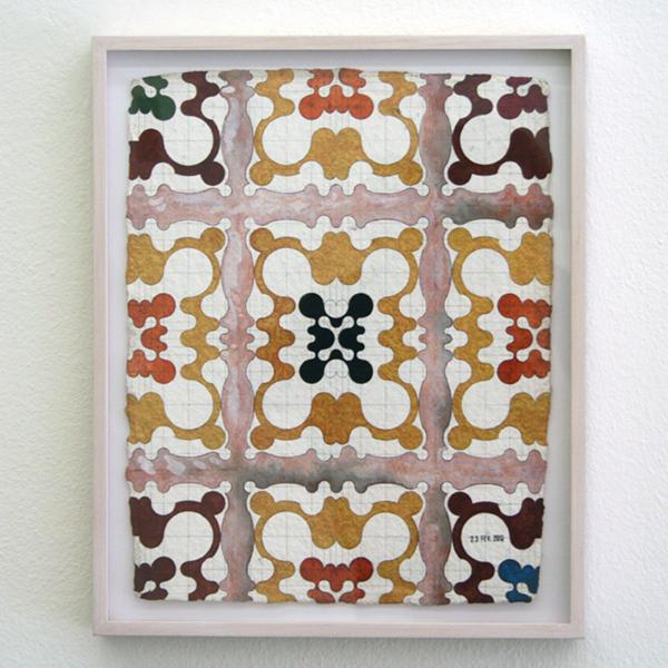 Henri Jacobs - 470, 23 febr 2010, Fame for mirrors - 32x24cm Potlood en aquarel op papier