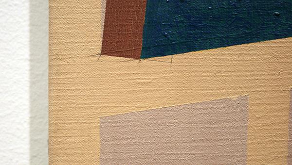 Henri Jacobs - Salle a Manger, Salle a Mourir - Olieverf op linnen 1989 (detail)