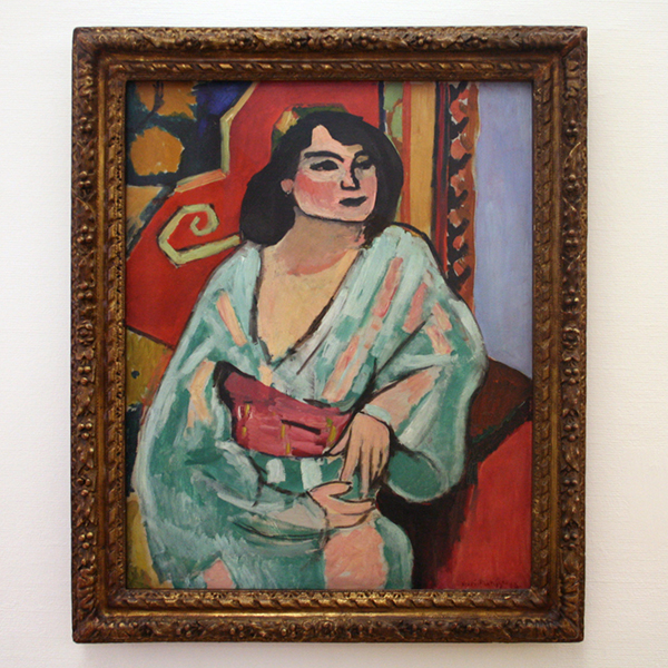 Henri Matisse - L'algerienne