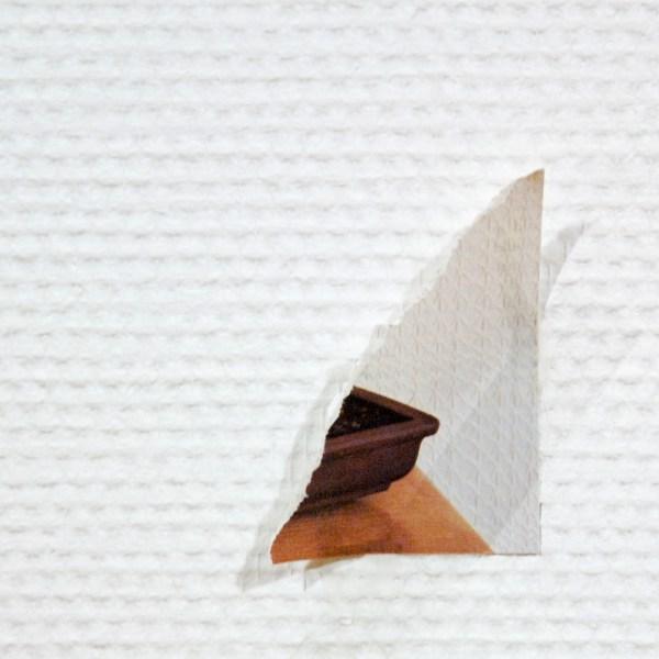 Herman van Ingelgen - Blow Up - Papier en plakband, 2008 (detail)