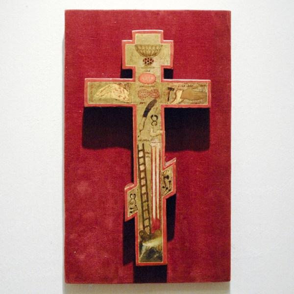 Heutink Ikonen - Dubbelzijdig kruis Ca 1800