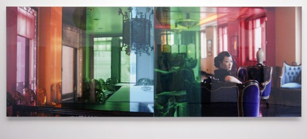 Isaac Julien - Glass House, Prism (Ten Thousand Waves) - Endura Ultra foto