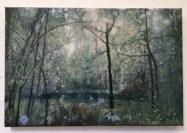 Isabella Werkhoven - Stardust #2 - 30x45cm Olieverf op linnen, 2014-2015