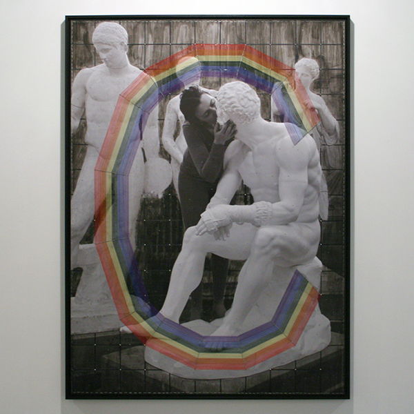 Isi Kunath - Archiv no 13,2012,P,L; How to become a Modernist - 154x114cm Mixed Media op foto