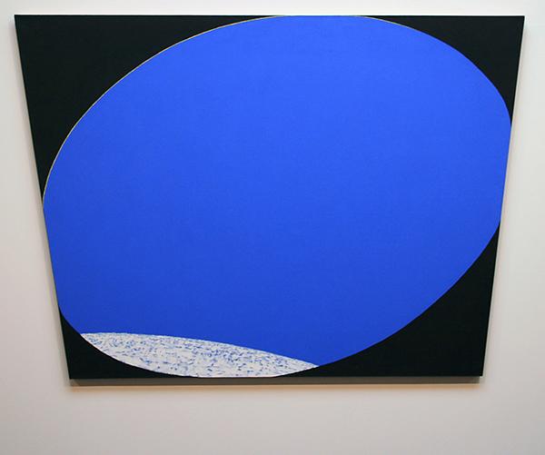JCJ Vanderheyden - Horizon in Blue Space - 146x166cm Acrylverf op doek