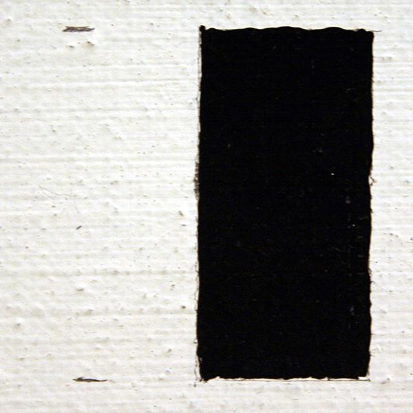 JCJ Vanderheyden - Witomrande Achterkant - Polyvinylacetaatverf en tempera op doek 1964 (detail)