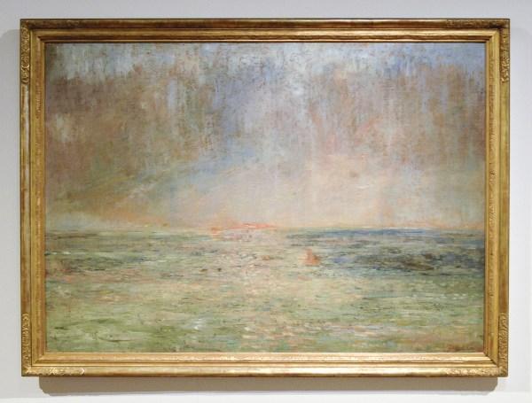 James Ensor - Grote Marine - Olieverf op doek, 1895