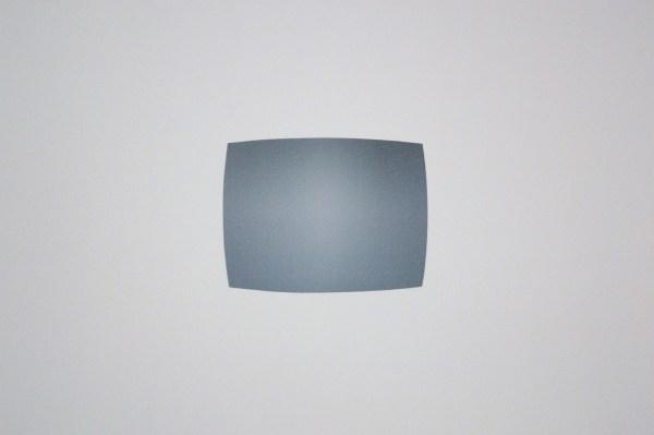 James Turrell - Magnatron (Tutti Frutti) - Installatie met televisie