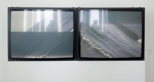 Jan Dibbets - Horizon III, Sea - 5minuten, Video, 1971