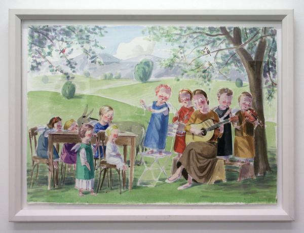 Jan Knap - Untitled - 42x60cm Inkt op papier
