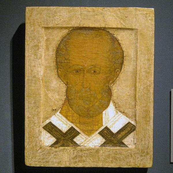 Jan Morsink Ikonen - Russisch circa 1550 (Sint Nikolaas)