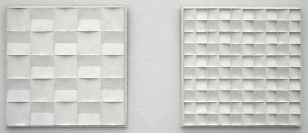 Jan Schoonhoven - Kwadreatenrelief 3de opvatting & R 69 41