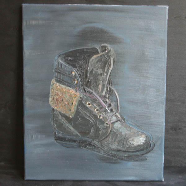 Jan Wattjes - My shoe 9 - 50x40cm Olieverf op doek