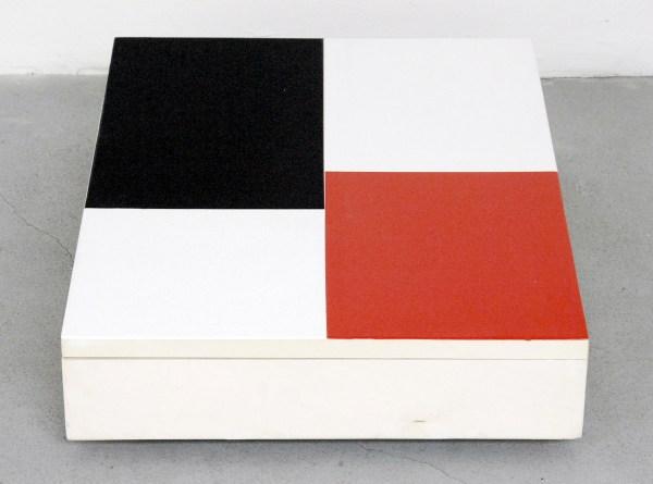Jan ten Have - Repetae - Tweeluik, 38x33cm Porelein en met olieverf beschilderde kisten