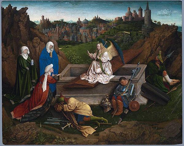 Jan van Eyck - Drie Maria's bij het Graf