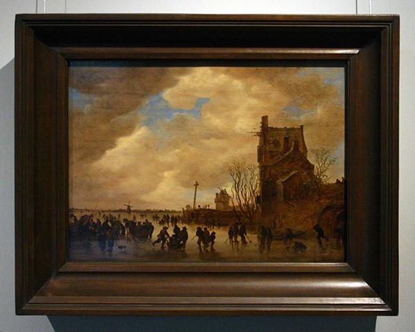 Jan van Goyen - IJsgezicht - Olieverf op paneel 1655