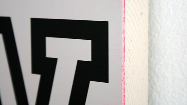 Jan van der Ploeg - MWMW - 40x30cm Acrylverf op canvas (detail)