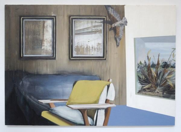 Janine van Oene - Untitled - 180x135cm Olieverf op canvas