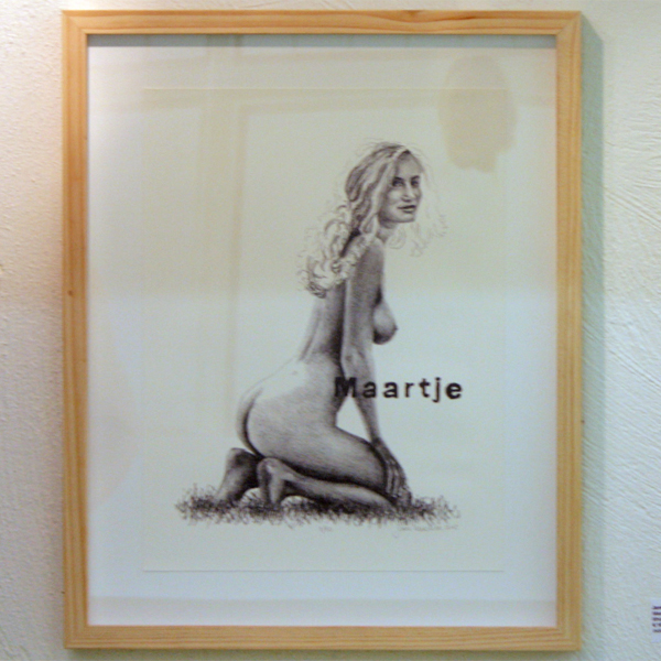 Jans Muskee - Maartje - 30x40cm Lithografie
