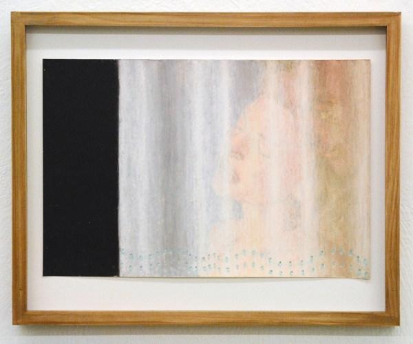 Jans Muskee - Nooit meer slapen (2) - 30x45cm Oliepastel op papier