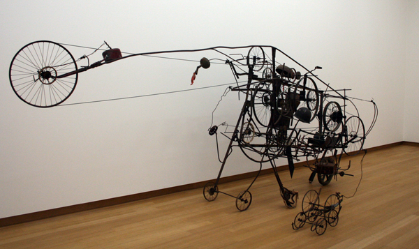 Jean Tinguely - Gismo - Diverse aan rotzooi
