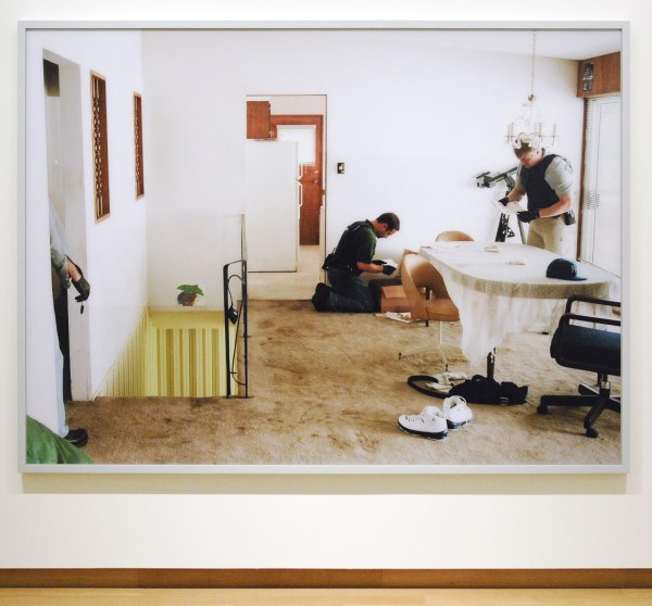 Jeff Wall - Search of Premises - Lightjet Print 2008