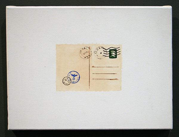 Jeffrey Dunsbergen - Untitled - 30x40cm Acrylverf op doek