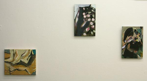Jenny Wilson - Diverse werken Olieverf op doek en olieverf op foto op dibond