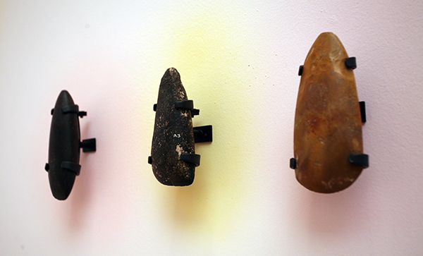 Jeremy Deller, The Small Faces, Selection of Neolithic hand axes, C 4,000 BCE, (detail)