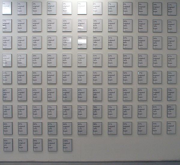Jeroen Bosch - 100% origineel, 0% kopie [...] 0% origineel, 100% kopie - A4, inktjet op hema papier