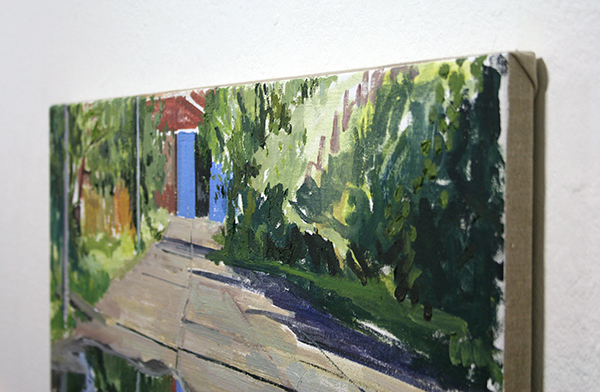 Jim Harris - Pudle - 60x70cm Olieverf op doek (detail)