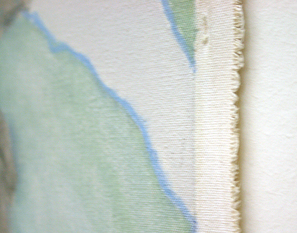 Jo Baer - Dawn (Lines and Destinations) Olieverf op doek (detail)