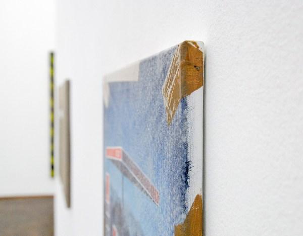 Jochen Muhlenbrink - Farbstoff E630 - 50x60cm Olieverf en acrylverf op linnen (detail)
