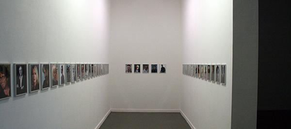 Jonas Lund - The Top 100 Highest Ranked Curators in The World, 2013 - 29x21cm, Laserprint op papier