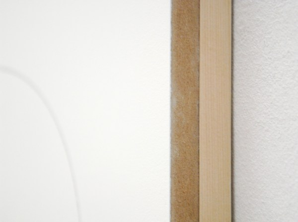Joost Krijnen - Descend Into The Darkness And Hold It There - 230x122x50cm Potlood, MDF, klei, hout, steen en zand (detail)